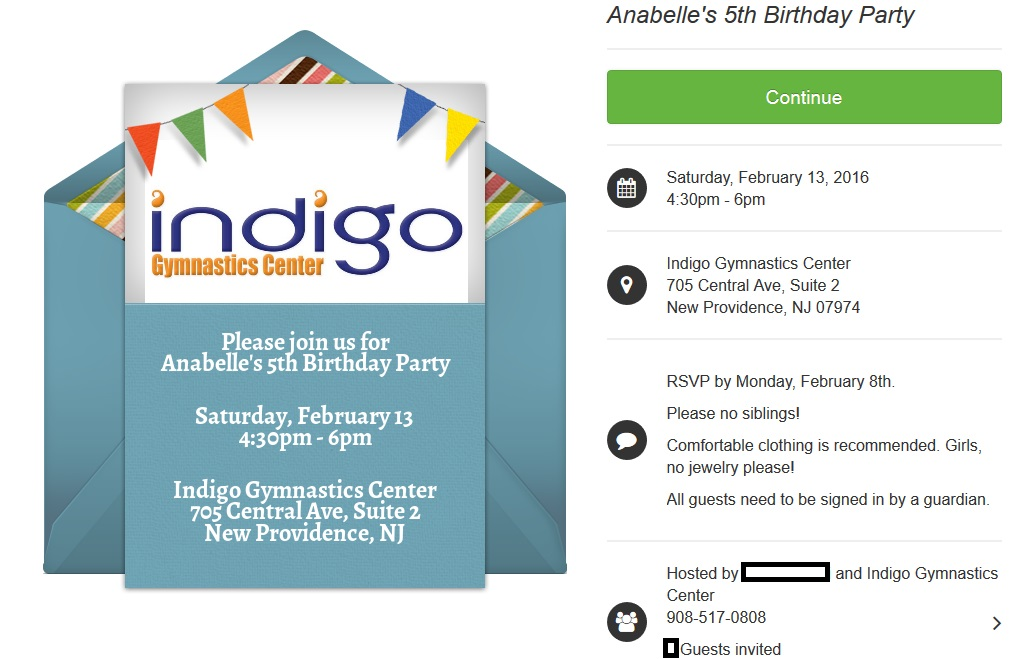 Birthday Parties | Indigo Gymnastics